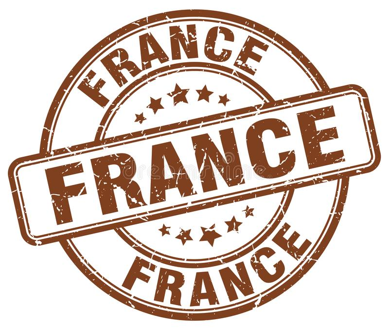 Штемпель Франции иллюстрация штока