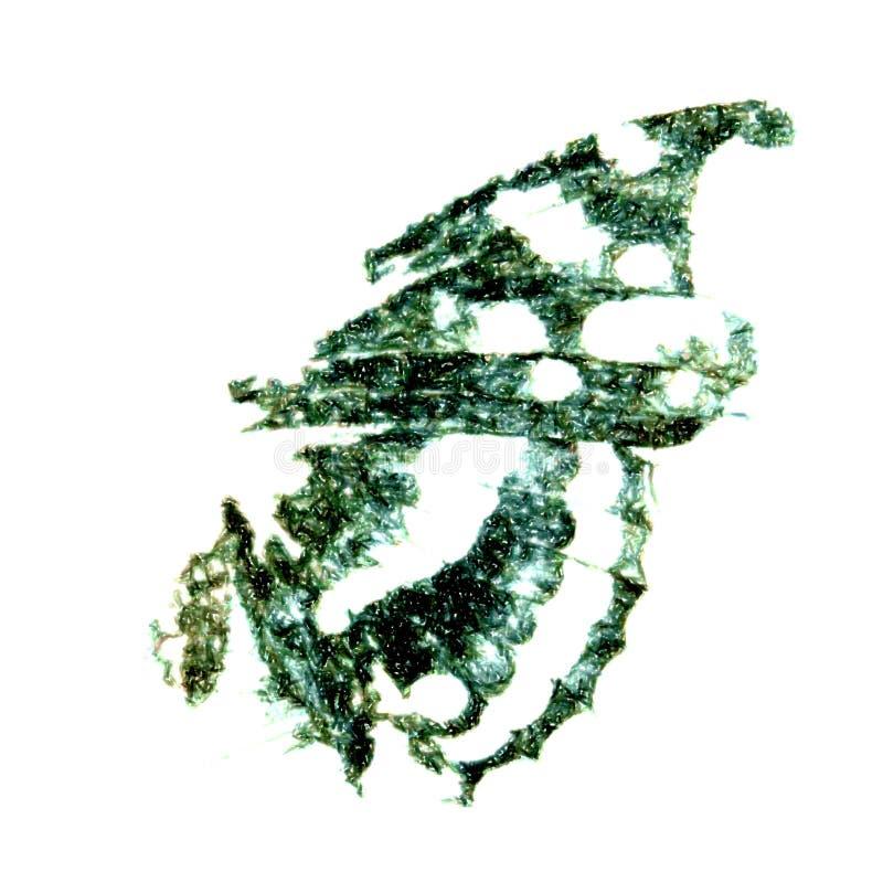 штемпель чернил бабочки стоковые изображения rf