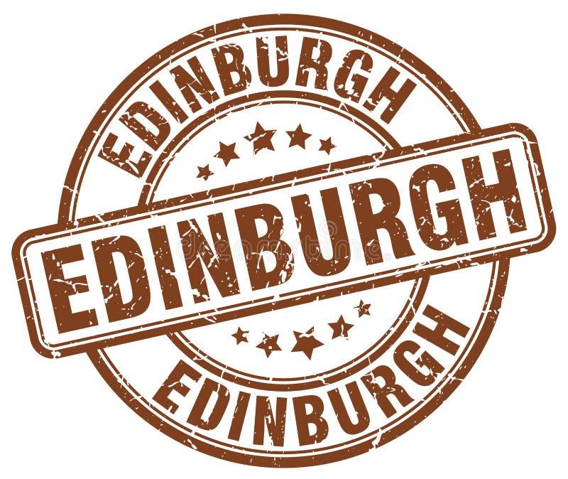 Штемпель Эдинбурга иллюстрация вектора
