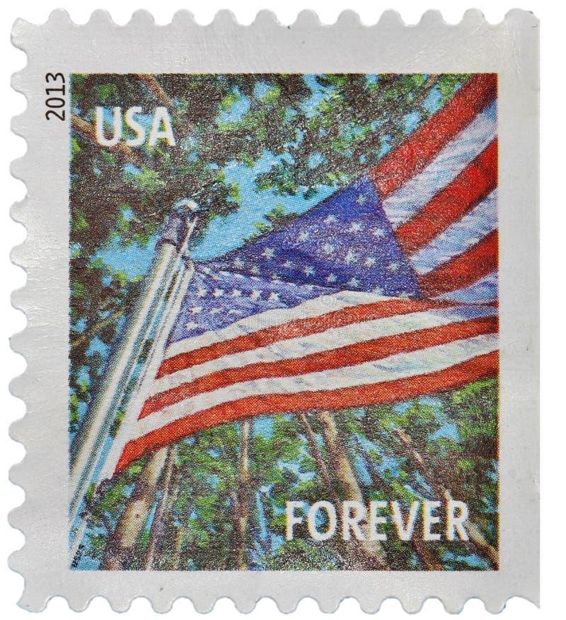 Штемпель почтоваи оплата США стоковые изображения rf