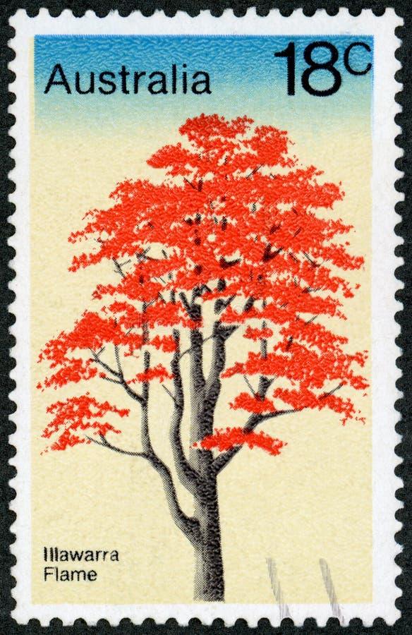 Штемпель почтового сбора - Австралия стоковые фото