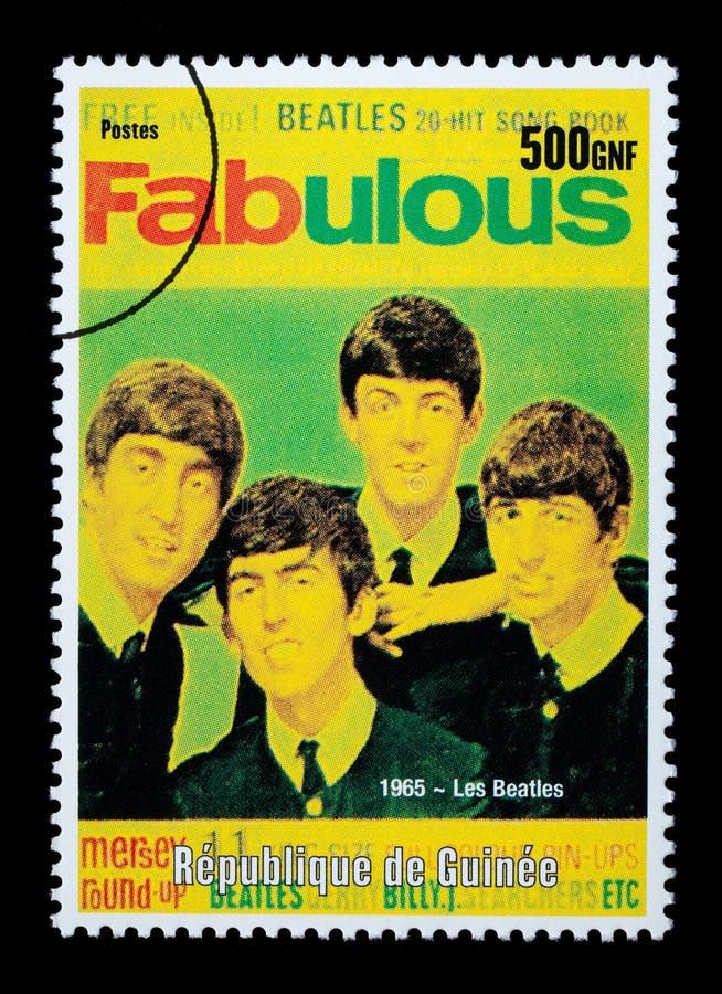 Штемпель почтового сбора Beatles иллюстрация вектора