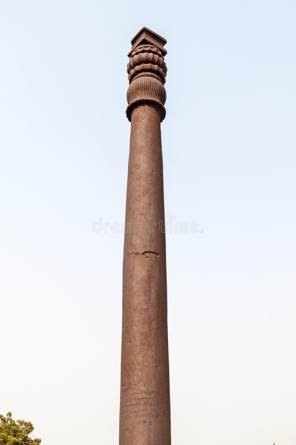 Штендер утюга Дели в комплексе Qutub, Ind стоковое изображение rf