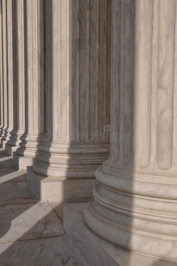 Штендеры Верховного суда США стоковые изображения