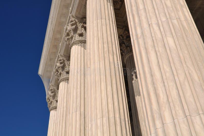 Штендеры закона и правосудия стоковые изображения rf