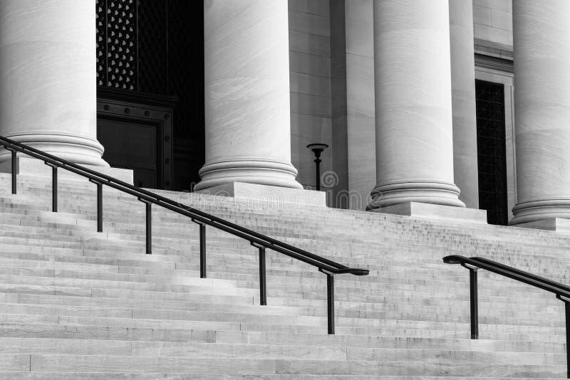 Штендеры и лестницы стоковое фото
