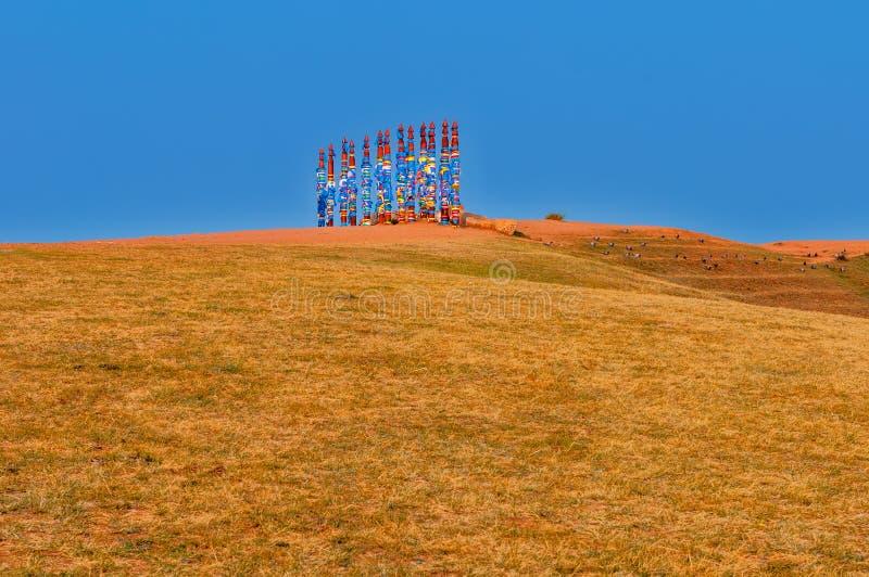 Штендеры Buryat стоковые изображения