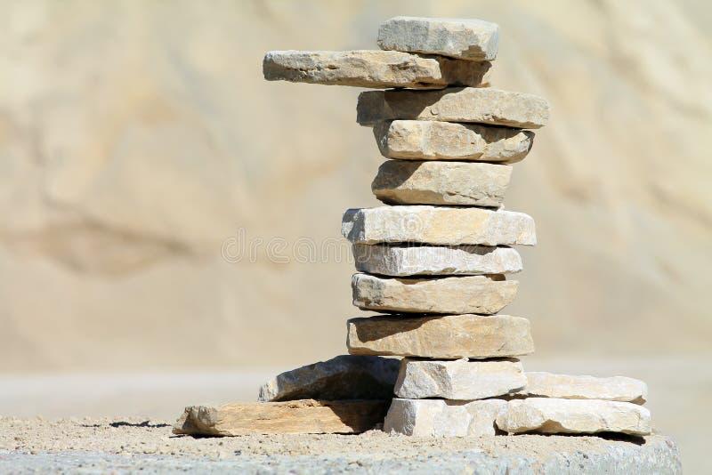 Штендер камня стоковые фотографии rf