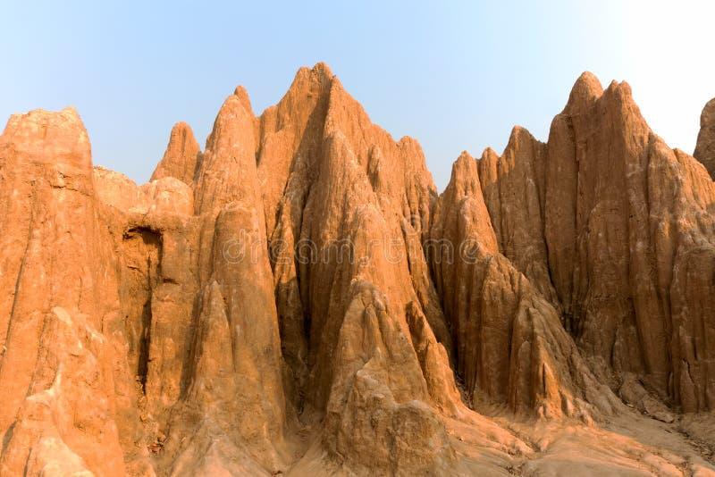 Штендер почвы вызван стоковое изображение