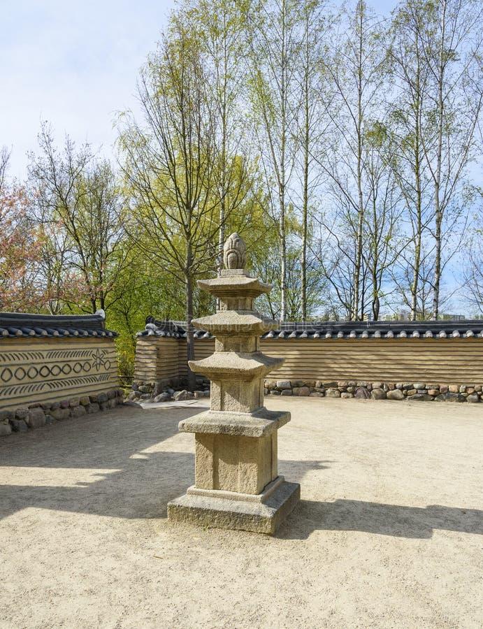 Штендер духов в саде Сеула корейца berlin Германия стоковая фотография