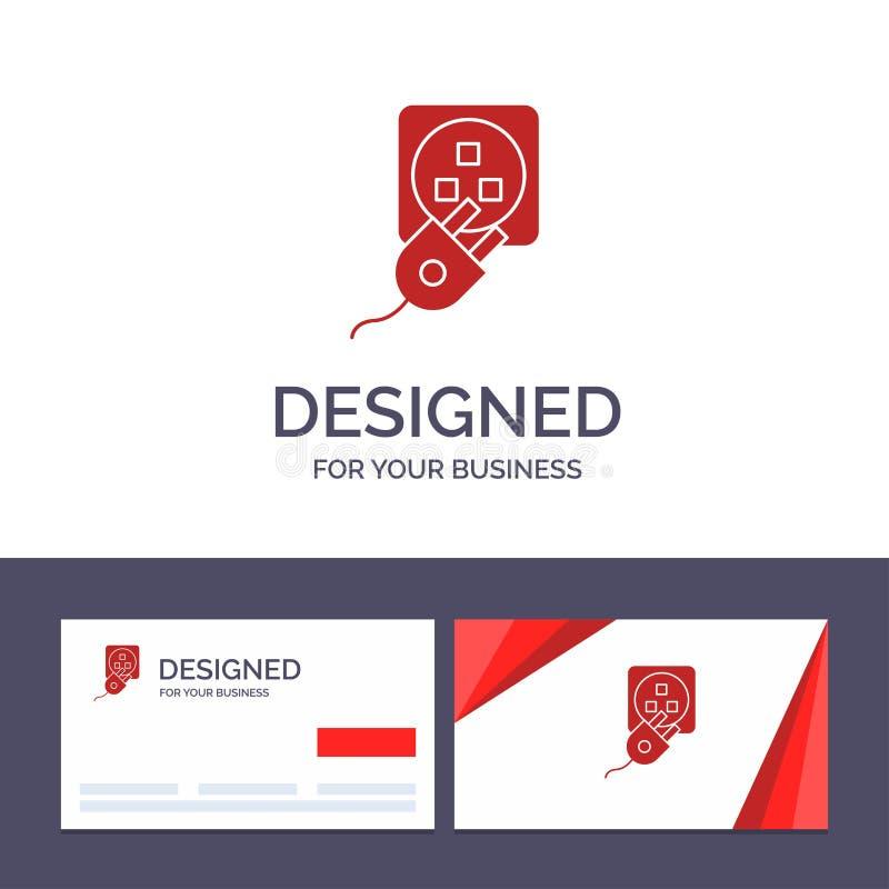 Штепсельная вилка творческого шаблона визитной карточки и логотипа, электрический, электрическая, шнур, иллюстрация вектора обяза бесплатная иллюстрация