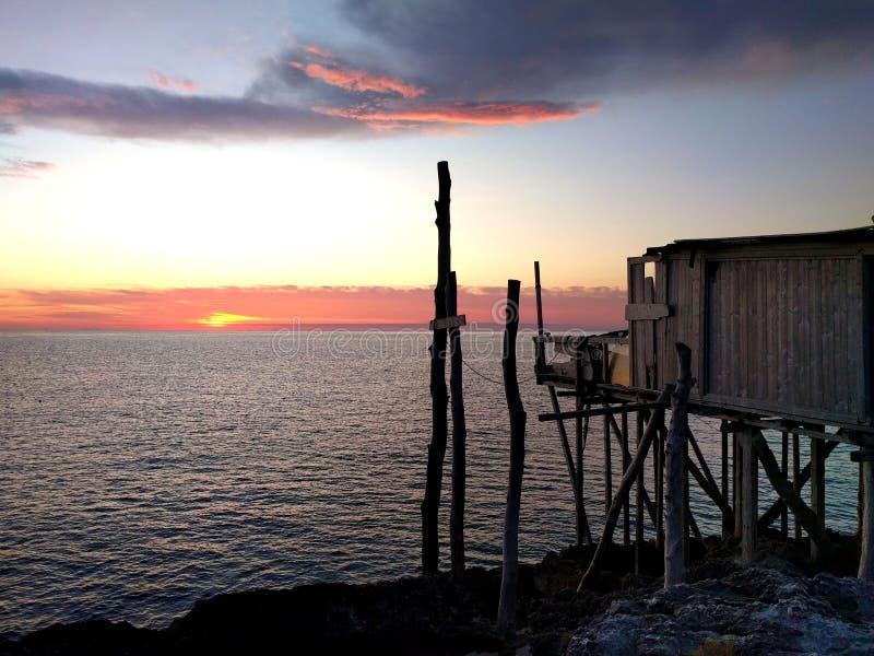 Штиль восхода солнца стоковое фото