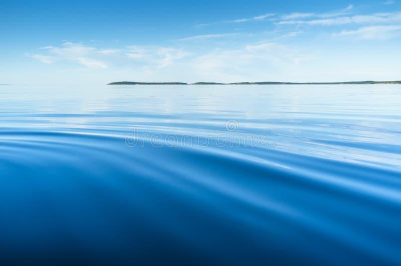 Штиль на море стоковое изображение rf