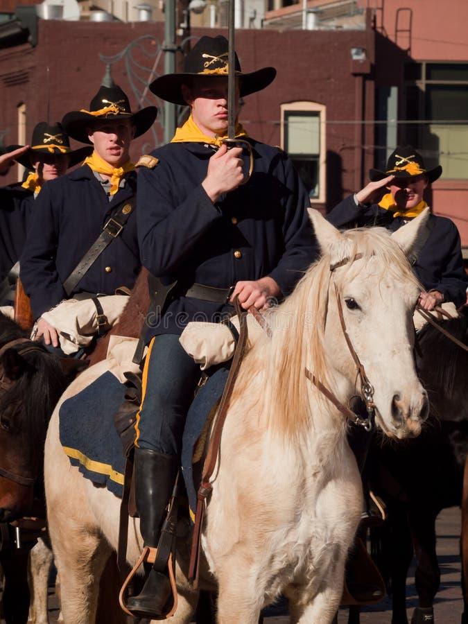 шток выставки парада западный стоковая фотография rf