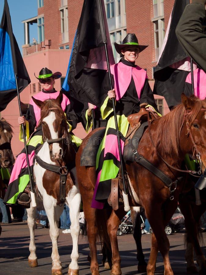 шток выставки парада западный стоковые изображения rf