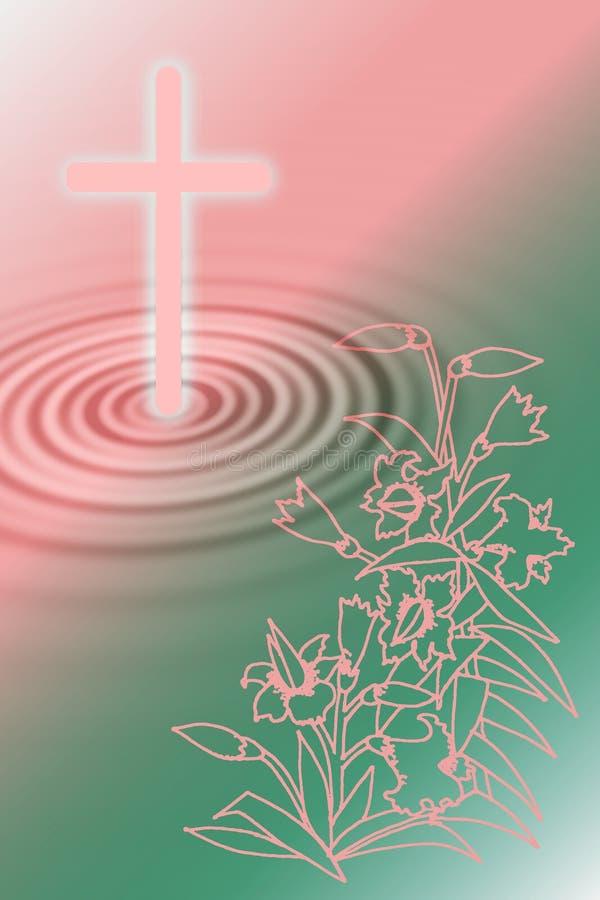 шток иллюстрации пасхи принципиальной схемы иллюстрация вектора
