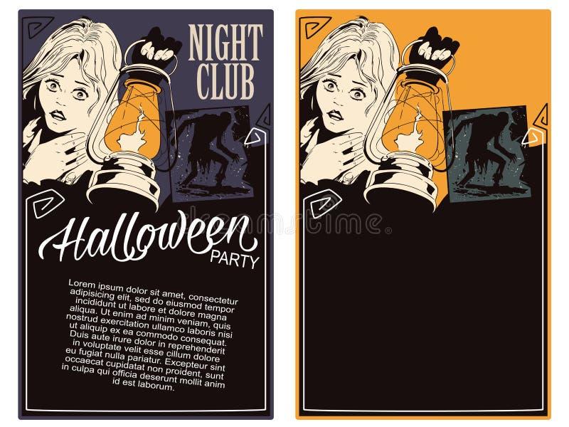 шток померанца иллюстрации предпосылки яркий Рогулька шаблона хеллоуина бесплатная иллюстрация
