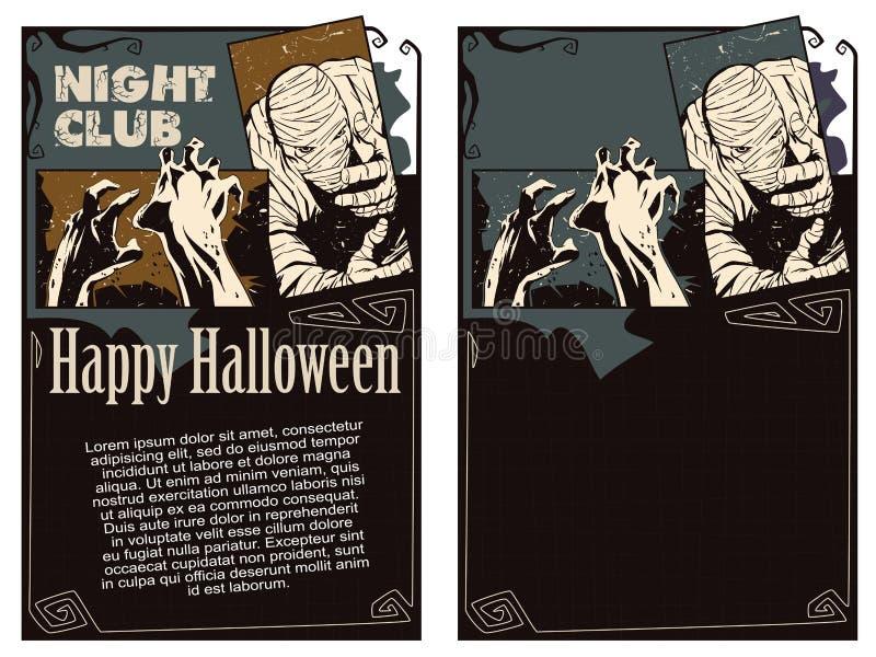 шток померанца иллюстрации предпосылки яркий Рогулька шаблона хеллоуина иллюстрация штока