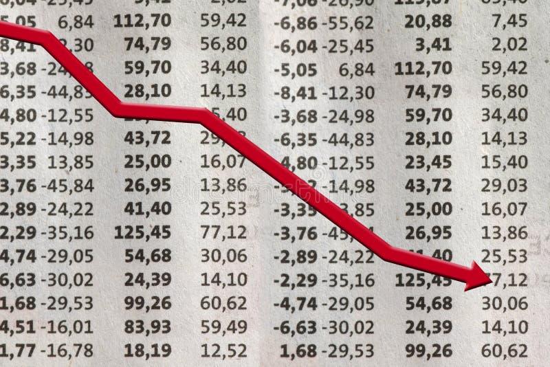 шток потери обменом стоковое фото rf