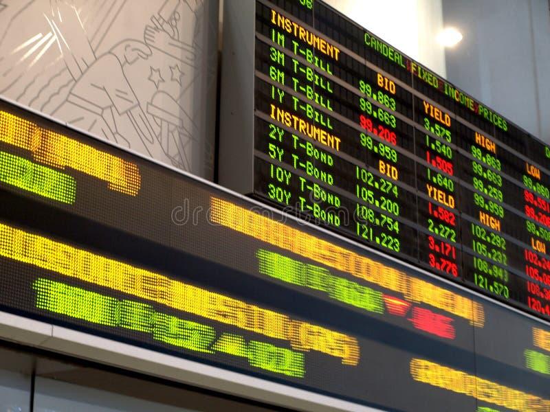 шток рынка стоковое фото