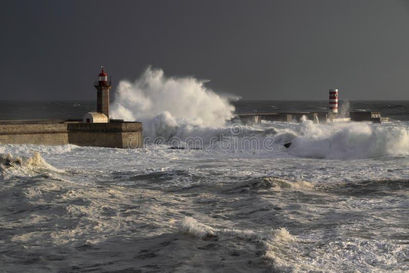 Штормы Douro стоковое изображение rf