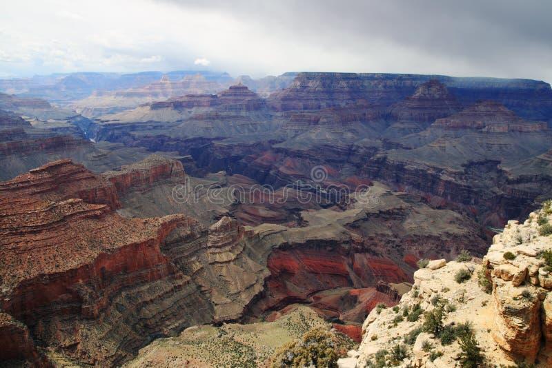 шторм каньона грандиозный стоковые изображения rf