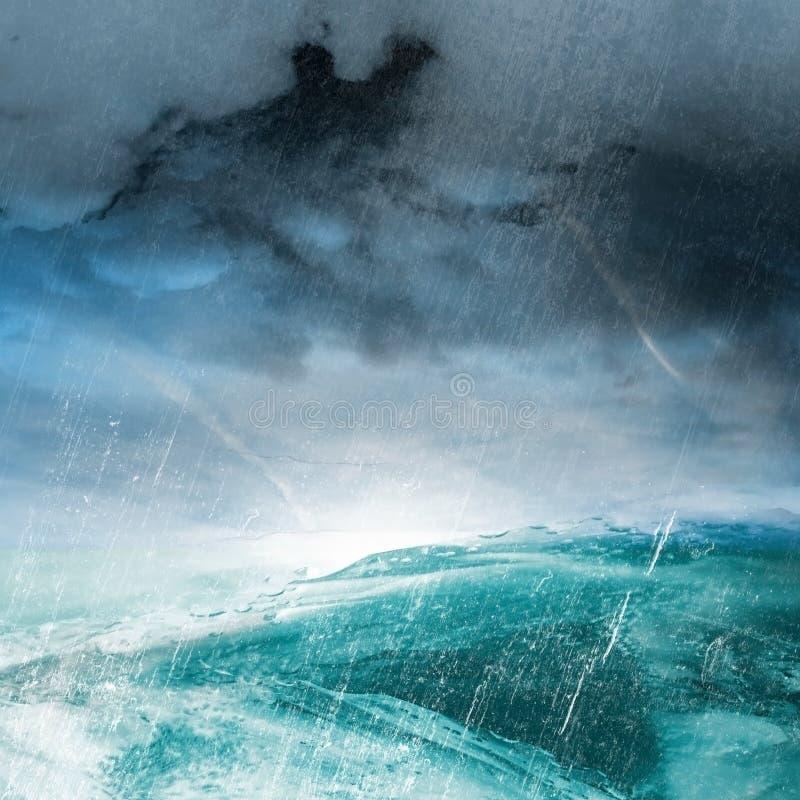 шторм концов стоковое фото rf