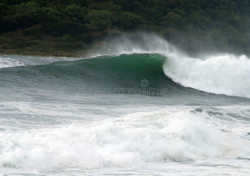 шторм моря стоковая фотография rf