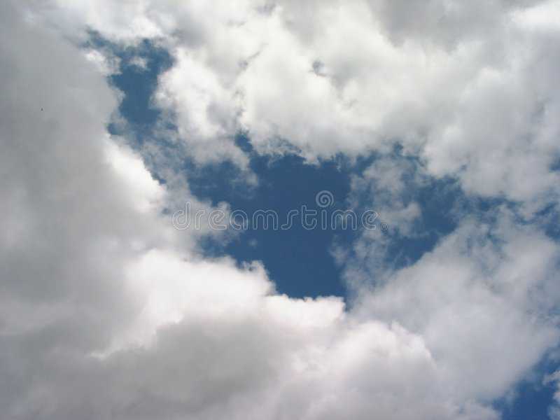шторм облаков Стоковая Фотография RF