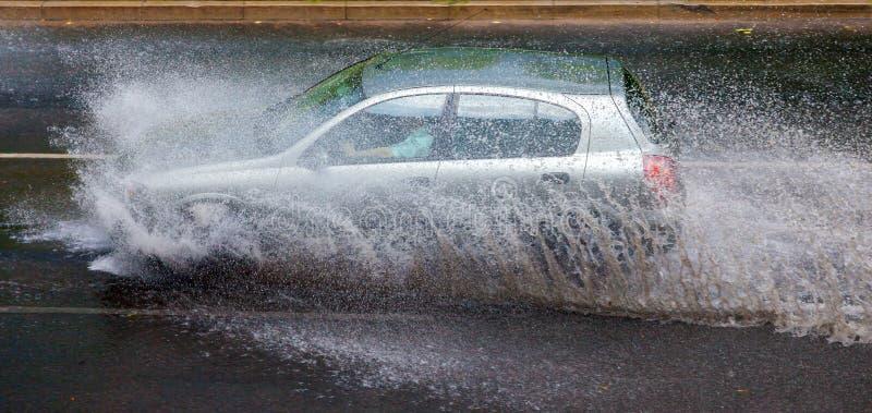 Шторм дождя стоковые изображения