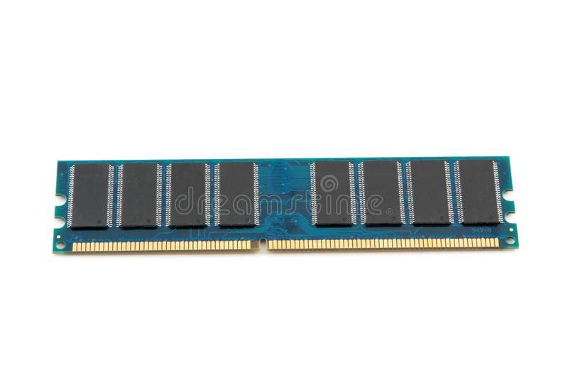 штоссель модуля памяти стоковое изображение rf
