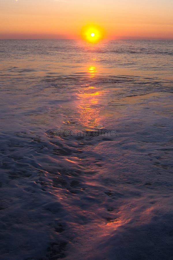 Штриховатость восхода солнца стоковые фотографии rf