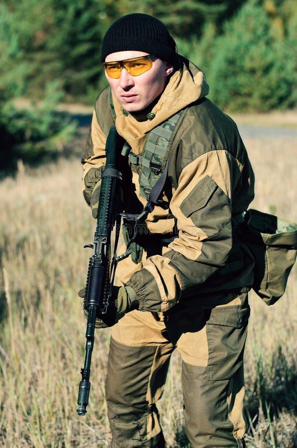 Штурм сил специального назначения стоковое фото rf