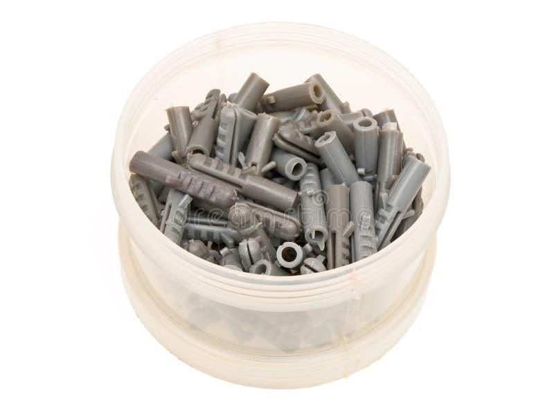 штыри серого цвета шпонки стоковая фотография rf