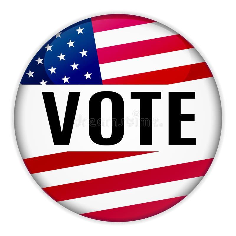 штырь голосования сети 3d с флагом США бесплатная иллюстрация