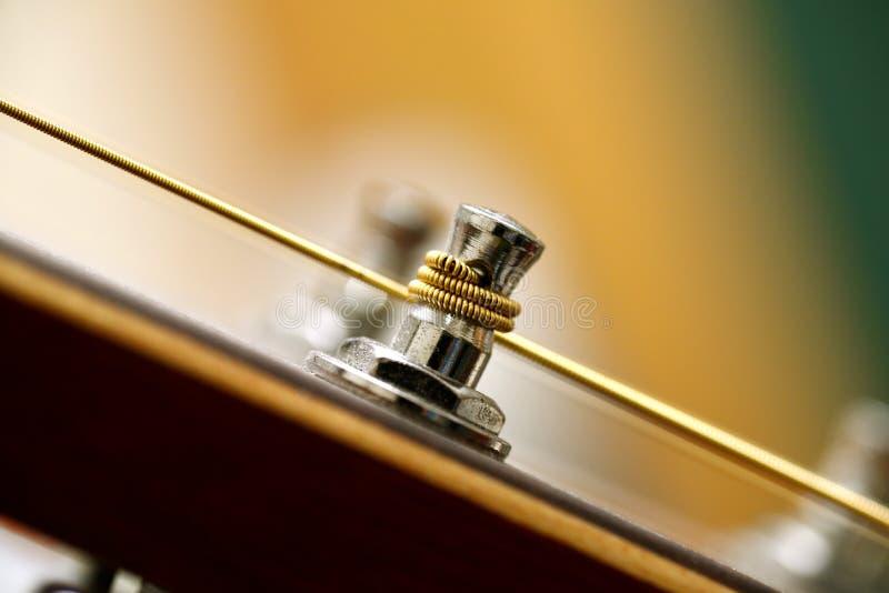 Штырь металла гитары стоковые фотографии rf