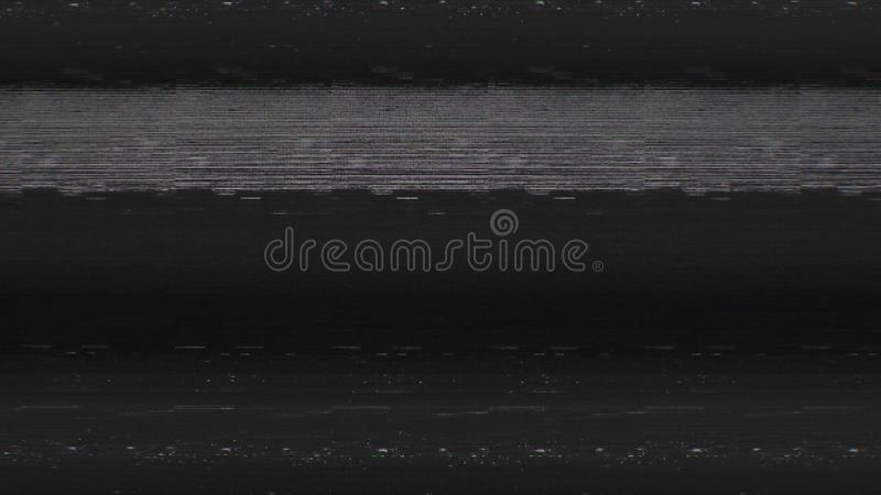 Шум снега пиксела цифров экрана телевизора стоковое фото