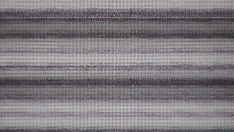 Шум снега пиксела цифров экрана телевизора стоковые фото