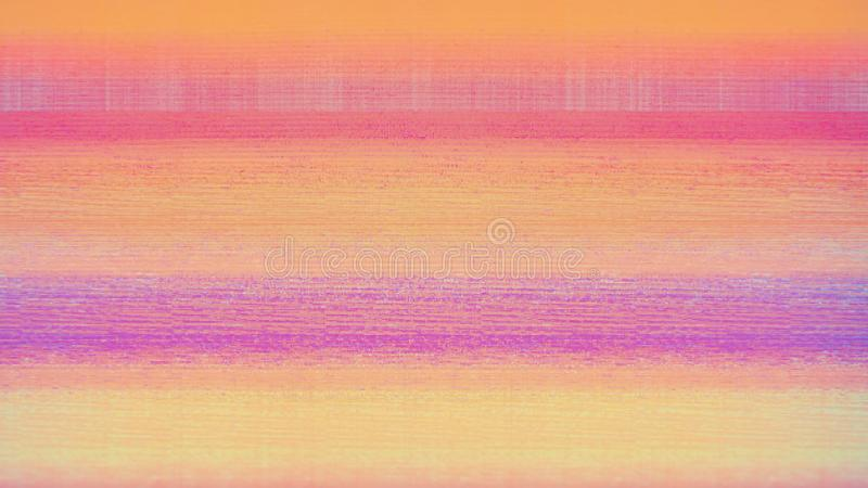 Шум снега пиксела цифров экрана телевизора стоковое изображение rf