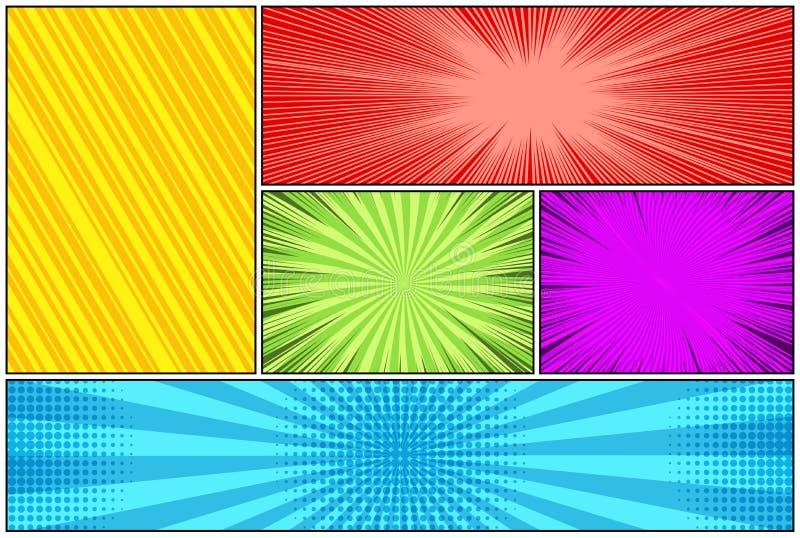Шуточный красочный состав иллюстрация штока