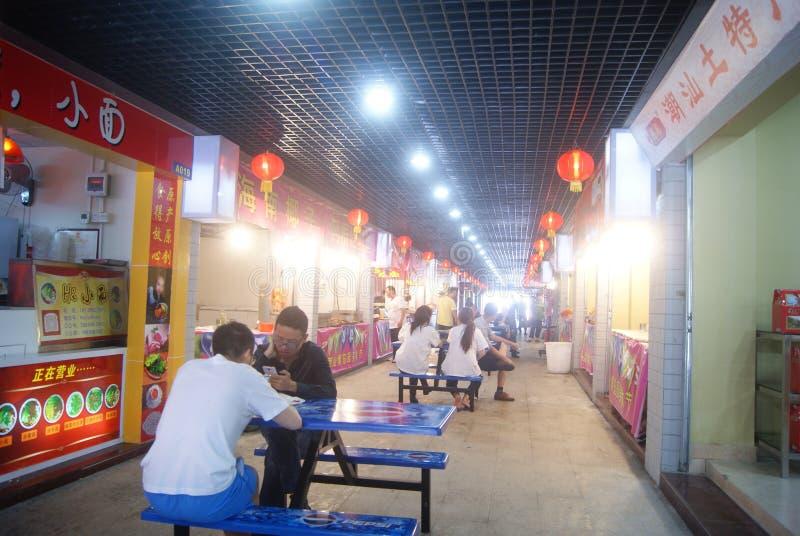 Download Шэньчжэнь, китаец:: Улица еды Редакционное Фото - изображение насчитывающей рестораны, улица: 40590126