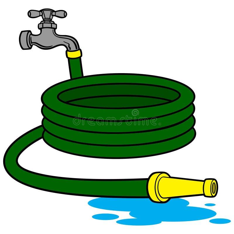 Шланг воды иллюстрация вектора