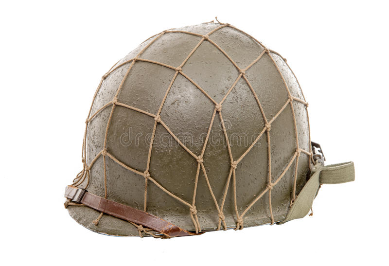 Шлем войск Ww2 США стоковое фото rf