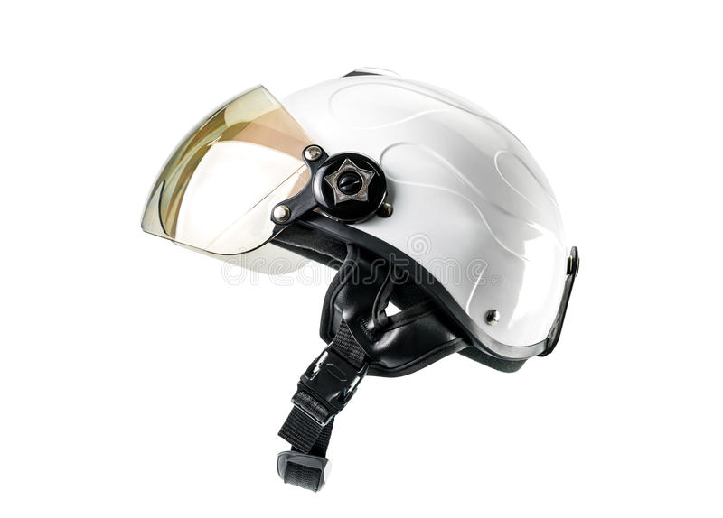 Шлем мотоцикла стоковое изображение