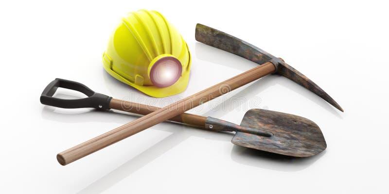 Картинки инструмент шахтера