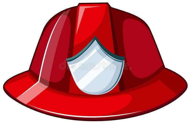 Шлем огня иллюстрация вектора