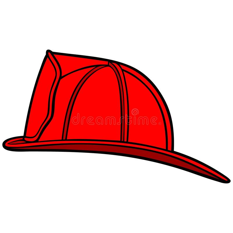 Шлем пожарного бесплатная иллюстрация