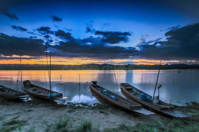 Шлюпка рыболова, Таиланд стоковые изображения