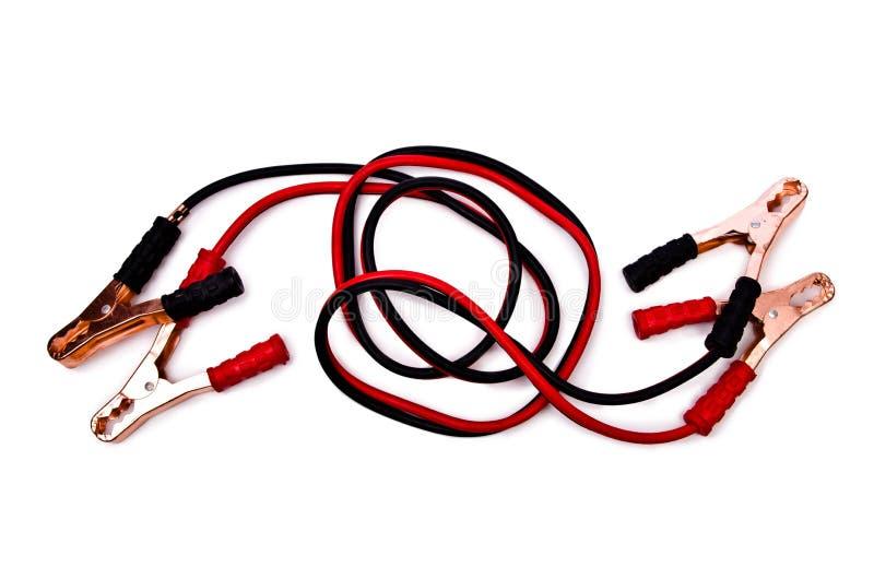 Шлямбуры автомобильного аккумулятора стоковое фото