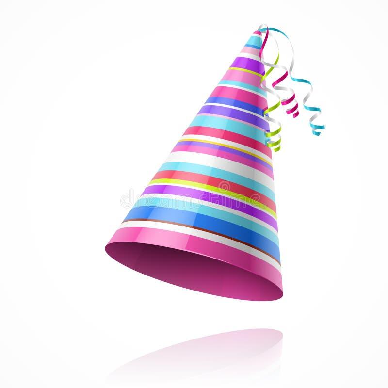 Шляпа партии иллюстрация штока